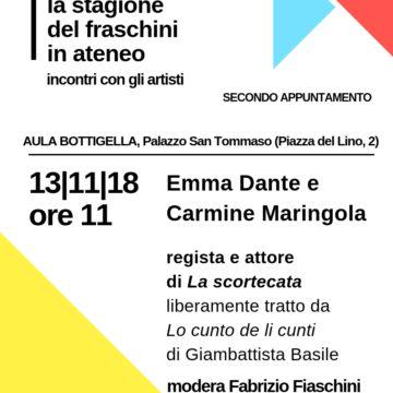 La stagione del Fraschini in Ateneo – Secondo appuntamento 13/11/2018
