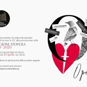Presentazione STAGIONE D'OPERA 2019-2020